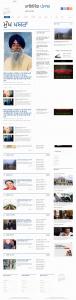 Newspaper webdesigning image