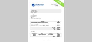 image paid invoice