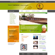 Lilly Swords College of Education Website